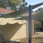 Shade Sails entertaining area