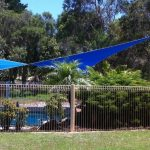Shade Sails for swimming pool