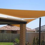 shadesail over back yard