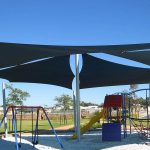 shade sails for local park