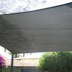 home entertaining area shade sails