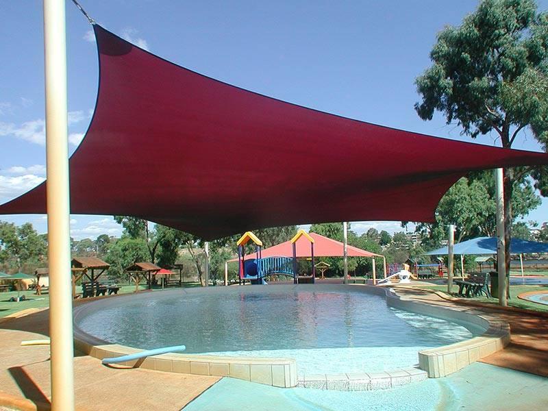 waterpark shade sail