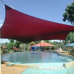 waterpark shadesail