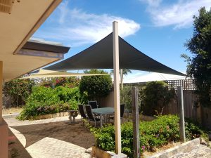 Shade Sails for patio area