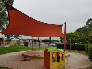 Children's Play Area Shade Sails