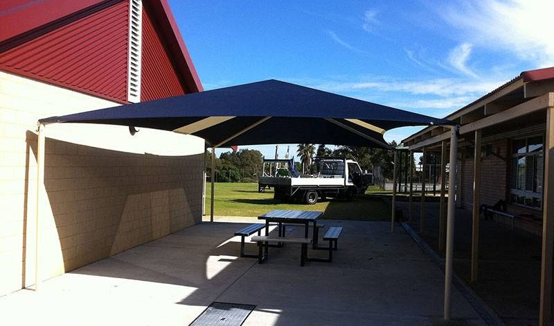 Shade Structure at a School in Perth