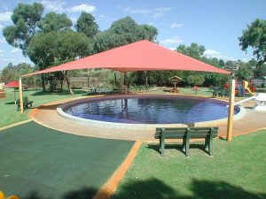 Shade Structure at play area
